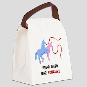 Charlie-D13-WhiteApparel Canvas Lunch Bag
