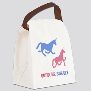 Charlie-D17-WaterBottle Canvas Lunch Bag