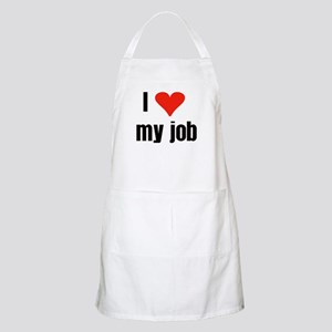 I Love my Job BBQ Apron