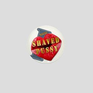 SHAVEDPUSSY---I-LOVE Mini Button