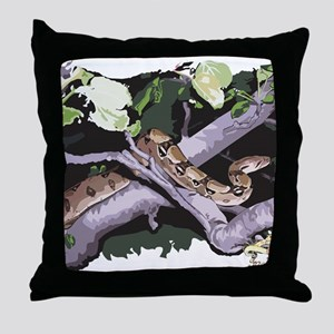 ShivaColor-withLogo-HG Throw Pillow