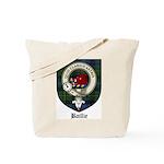 Baillie Clan Crest Tartan Tote Bag
