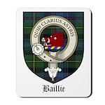 Baillie Clan Crest Tartan Mousepad