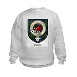 Baillie Clan Crest Tartan Kids Sweatshirt