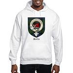 Baillie Clan Crest Tartan Hooded Sweatshirt