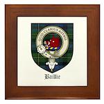Baillie Clan Crest Tartan Framed Tile