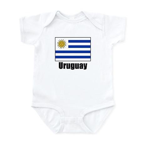 Uruguay Flag Infant Bodysuit