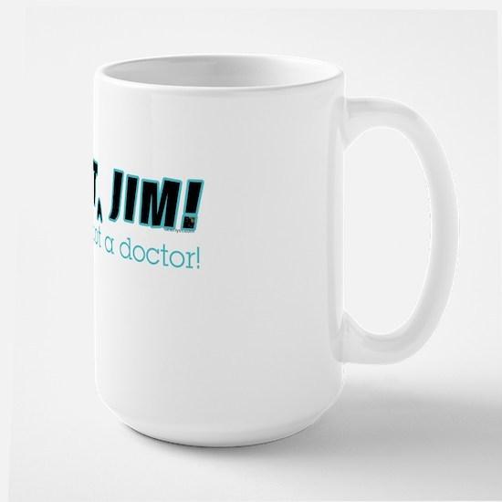 Dammit Jim Redux Large Mug