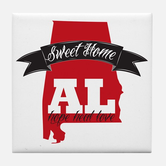 Sweet Home-2 Tile Coaster