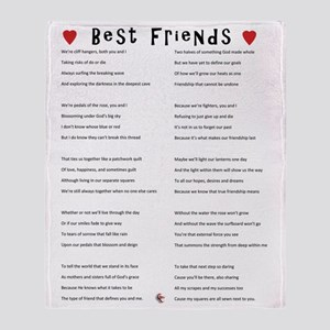 BestFriends-TX Throw Blanket