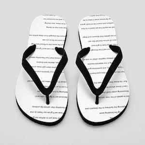 BestFriends-TX Flip Flops