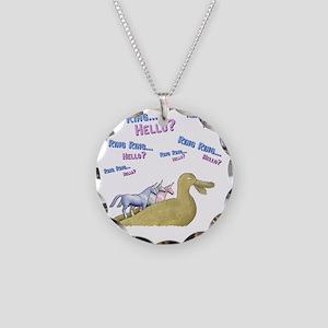 Charlie-D20-BlackApparel Necklace Circle Charm