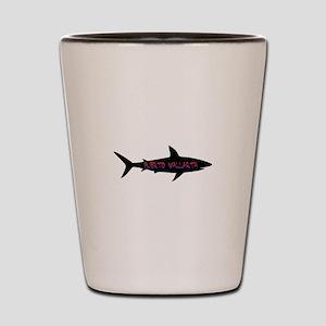 Puerto Vallarta Shark Shot Glass