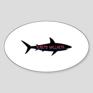 Puerto Vallarta Shark Sticker