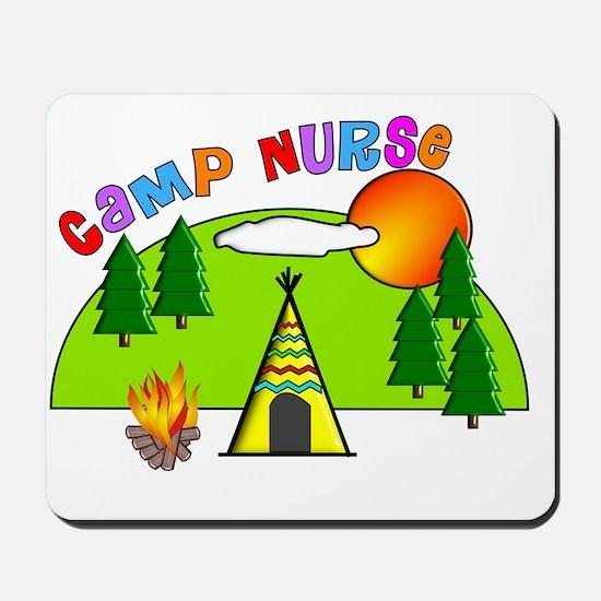 camp nurse 5 Mousepad