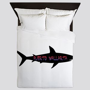 Puerto Vallarta Shark Queen Duvet