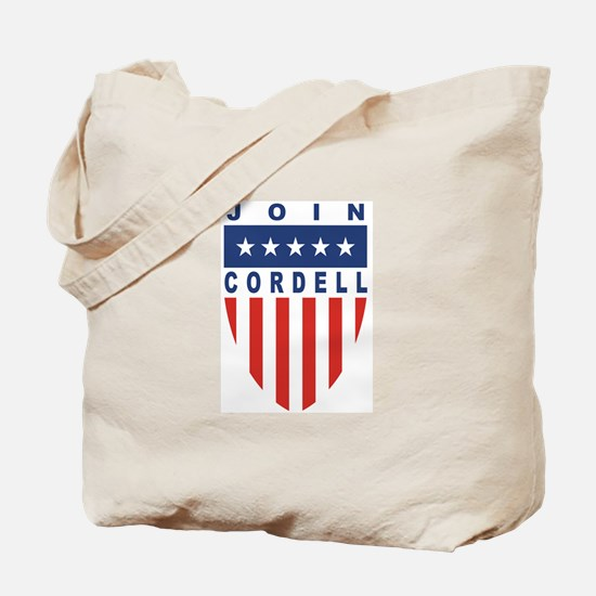 Join Don Cordell Tote Bag