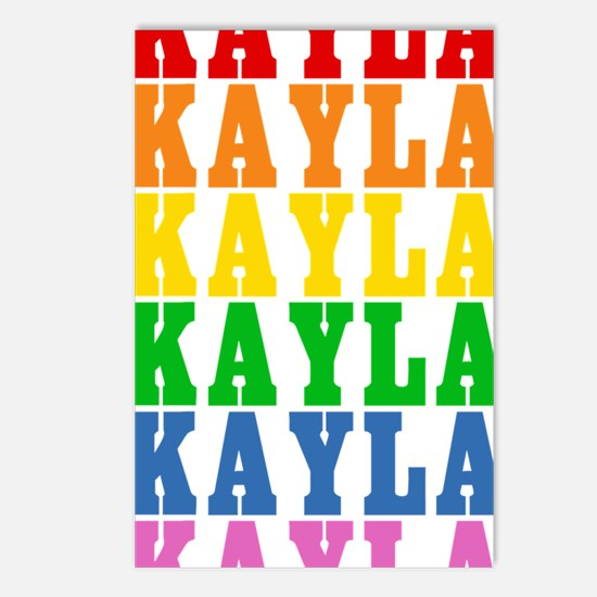 rbwnames_KAYLA Postcards (Package of 8)