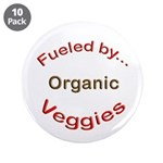 "Fueled by Organic 3.5"" Button (10 pack)"