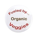 "Fueled by Organic 3.5"" Button (100 pack)"