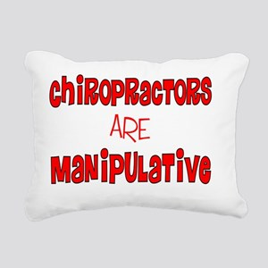 Chiropractors ARE manini Rectangular Canvas Pillow