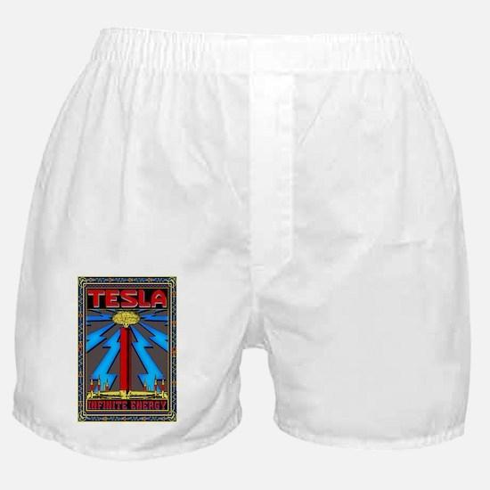 TESLA_COIL-2x3_magnet Boxer Shorts