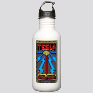 TESLA_COIL-5x8_journal Stainless Water Bottle 1.0L