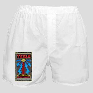 TESLA_COIL-5x3rect_sticker Boxer Shorts