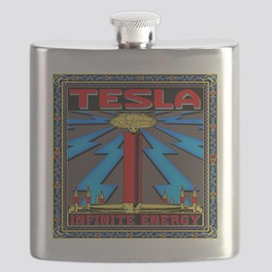 TESLA_COIL-11x11_pillow Flask