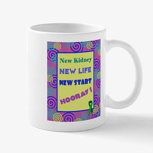New Kidney, New Life Mugs