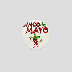 cinco de mayo 1 pepper Mini Button