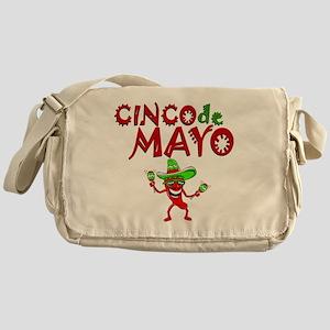 cinco de mayo 1 pepper Messenger Bag