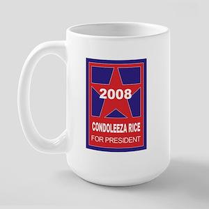 Condoleeza Rice for president Large Mug
