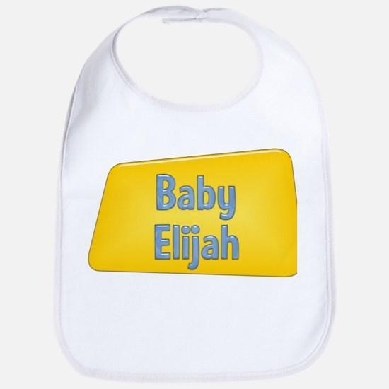 Baby Elijah Bib