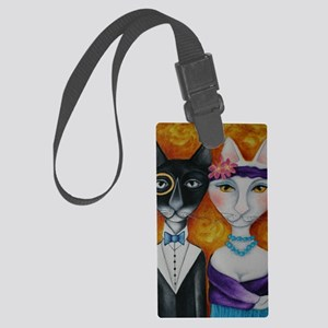 batmanlily11a Large Luggage Tag
