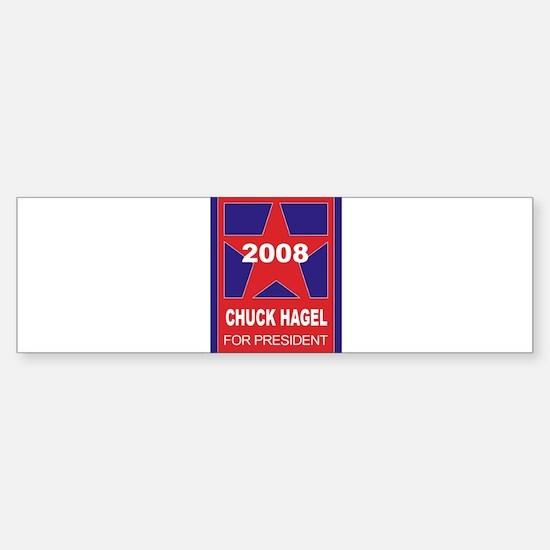 Chuck Hagel for president (st Bumper Bumper Bumper Sticker