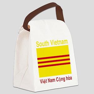 South-Vietnam-Colours Canvas Lunch Bag