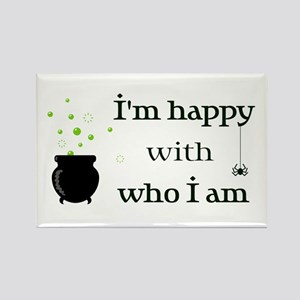 Witch Personality Rectangle Magnet