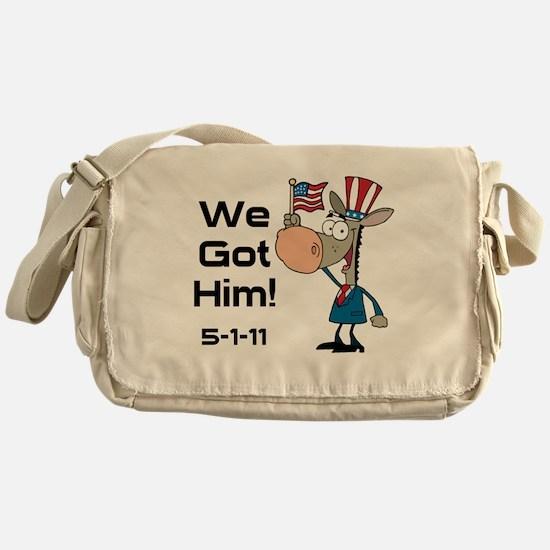 DONKEYGOTHIM2 Messenger Bag