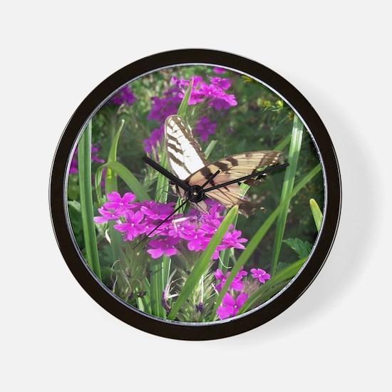 Tiger Swallowtail Wall Clock