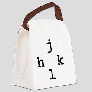 hjkl Canvas Lunch Bag