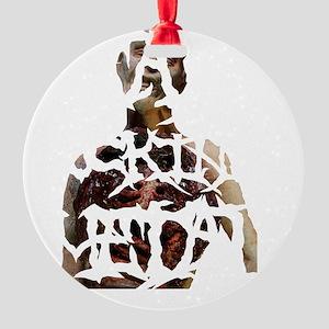 Death Fucking Metal Round Ornament