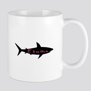Exuma Bahamas Shark Mugs