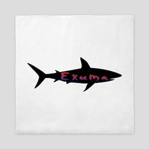 Exuma Bahamas Shark Queen Duvet