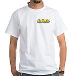 Yellow Logo/White T-Shirt