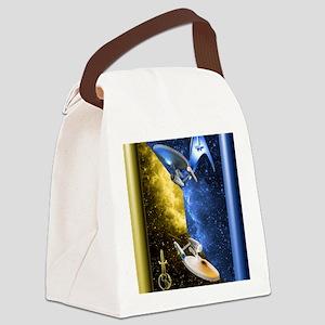 Mirror Universe Canvas Lunch Bag