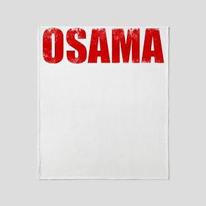 OSAMA_FISHES Throw Blanket