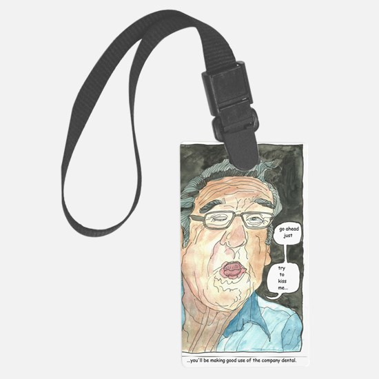Go ahead, try to kiss me Luggage Tag