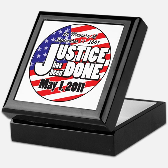 Justice_Has_Been_Done Keepsake Box