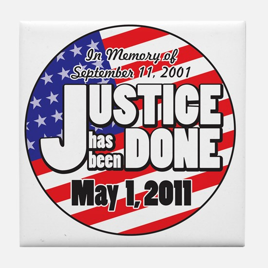 Justice_Has_Been_Done Tile Coaster